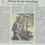 Presseartikel Schlagzeug Fitness