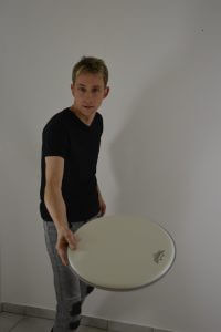Schlagzeuglehrer Florian Fochs